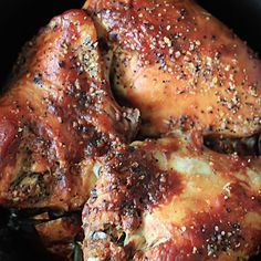 Doesn't this look wonderful! #chicken #BBQ #slowcooker