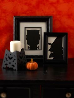 several Halloween crafts
