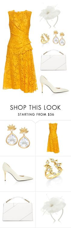 """Royal Christening"" by neeeea ❤ liked on Polyvore featuring Jamie Wolf, Oscar de la Renta, Tom Ford, Ron Hami, Jason Wu and Accessorize"