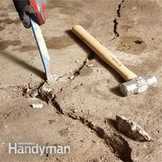 What to do if your foundation cracks foundation corner cracks big garage floor resurfacing fix a pitted garage floor concrete floor repairconcrete solutioingenieria Images