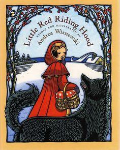 "Andrea Wisnewski ""Little RED Riding Hood"" David Godine 2008 H B IN D J Fine"