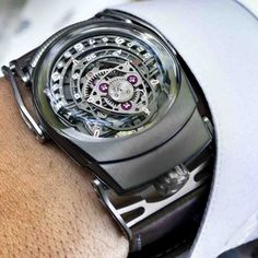Nitro, a collaboration between the two awesome brands (Urwerk and MB&F)