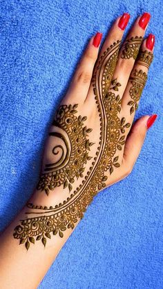 Mehndi Design Offline is an app which will give you more than 300 mehndi designs. - Mehndi Designs and Styles - Henna Designs Hand Henna Hand Designs, Dulhan Mehndi Designs, Mehndi Designs Finger, Mehndi Designs For Kids, Latest Arabic Mehndi Designs, Legs Mehndi Design, Mehndi Designs For Fingers, Mehndi Design Photos, Wedding Mehndi Designs
