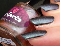 Ms. Sparkle Virga Sunset | Squeaky Nails http://www.squeakynails.com/2015/05/swatches-ms-sparkle-polish-virga-sunset.html