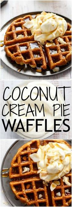 Cakes Puddings Trifles Cobblers etc. Note: Pies Cupcakes Cookies Bars & Candy posted on separate boards Delicious Breakfast Recipes, Savory Breakfast, Breakfast Ideas, Brunch Ideas, Breakfast Time, Waffle Recipes, Brunch Recipes, Pavlova, Sauce Creme
