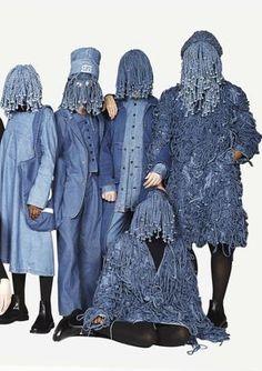 Fashion Week get the denim 69 look - Anything Blue Foto Fashion, Denim Fashion, Trendy Fashion, Fashion Show, Fashion Design, Fashion Trends, Nyc Fashion, Fashion Fabric, Artisanats Denim