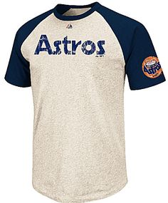 Houston Astros Cooperstown All Star Player Raglan T Shirt by Majestic $31.95