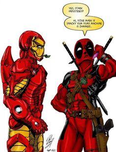 Iron Man and Deadpool