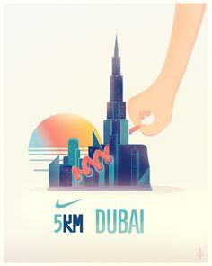 We Run Dubai . NIKE
