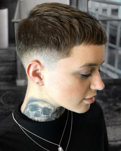 25 Fresh Androgynous Haircuts For Modern Statement-Makers - . - 25 Fresh Androgynous Haircuts For Modern Statement-Makers – - Best Pixie Cuts, Short Hair Cuts, Super Short Hair, Fade Haircut, Pixie Haircut, Undercut Pixie, Haircut Short, Hairstyle Short, Hair Updo