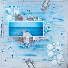 The End of Summer - all time fav! #mixedmedia #scrapbooking