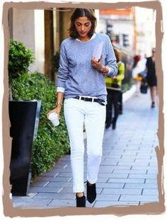 have some decorum: Me Likey White Jeans