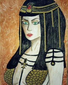 Work or tue day! #Cleopatra #art #interior design