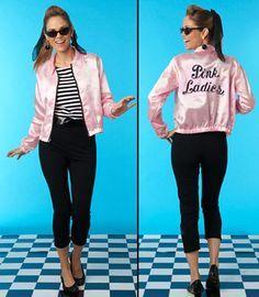 grease pink ladies costume - Google Search easy DIY
