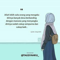 Islamic Inspirational Quotes, Motivational Quotes, Anime Muslim, Hijab Cartoon, Islamic Quotes Wallpaper, Cartoon Quotes, Learn Islam, Quotes Indonesia, Muslim Quotes
