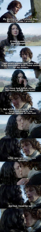 Outlander Season 2 Finale. Jamie & Claire                                                                                                                                                     More