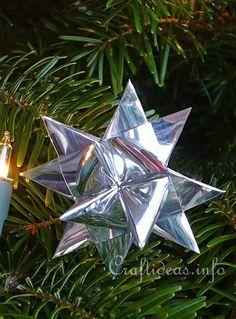 Silver German Froebel Star