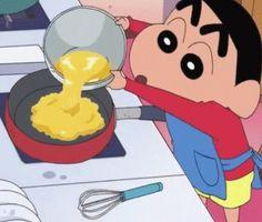 Shin Chan for cooking Sinchan Wallpaper, Cartoon Wallpaper Iphone, Cute Cartoon Wallpapers, Kawaii Wallpaper, Crayon Shin Chan, Sinchan Cartoon, Best Whatsapp Dp, Cartoon Profile Pics, Fanart