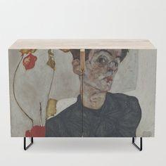 Egon Schiele Portrait of Wally Neuzil 10x8 inch Print