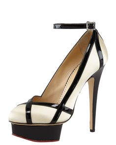 Harlequin Pump by Charlotte Olympia