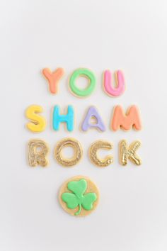 TELL: ST. PATRICK'S DAY COOKIES
