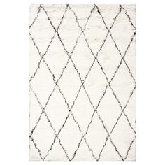 Bring a touch of texture to your master suite ensemble or living room seating group with this hand-tufted wool rug, showcasing a luxe shag design and chic tr...