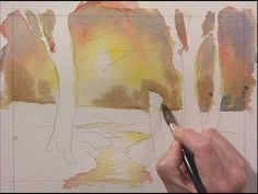 Improve Your Brushwork in Watercolour - Part One - YouTube