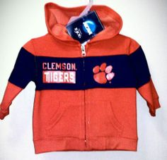 CHRISTMAS SALE!!! CLEMSON TIGER HOODIE SWEAT JACKET NWT!!!!12 MONTH  BID STARTS @ $8.99 @ EBAY!  ***WISHING YOU AND YOURS A VERY MERRY, BLESSED, JOYOUS & SAFE CHRISTMAS!!! ♥ ♥ ♥ ***MERRY***CHRISTMAS***