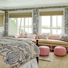Sunny Master Bedroom: After - 50 Beautiful Coastal Befores