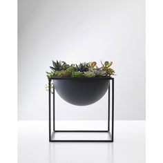 Kubus Black Bowl by Lassen- Steel Metal Scandinavian and Danish Fruit Bowl | Urban Couture - Designer Homewares & Furniture Online