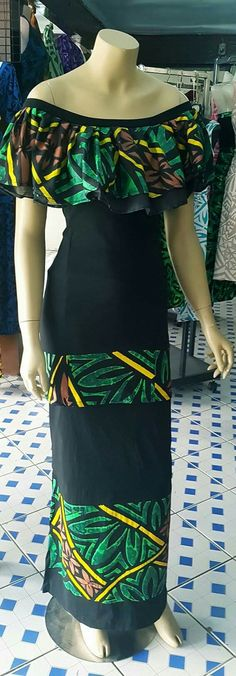 Island Wear, Island Outfit, Samoan Dress, Island Style Clothing, Fashion Wear, Fashion Outfits, Hawaiian Fashion, Pretty Prom Dresses, Muumuu