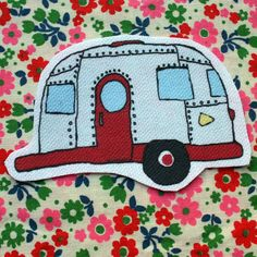 airstream patch by RobotLuv on Etsy, $3.00