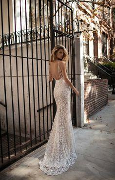 Berta bridal fall 2017 wedding dresses full of Illusion lace and sheer details
