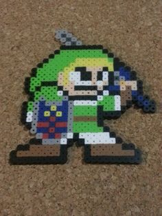 Link Bead Sprite  Legend of Zelda  Super Smash by DCBPerlerSprites
