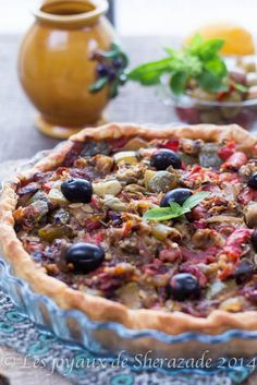 tarte aux légumes Tart Recipes, Veggie Recipes, Sweet Recipes, Healthy Recipes, Quiches, Pizza Cake, Healthy Cooking, Food Porn, Food And Drink