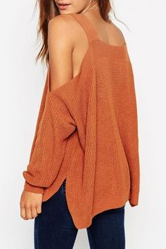 chic-simple-color-off-the-shoulder-pullover-sweater