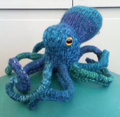 Awesome crochet octopus.  Need for my collection.  <3