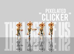 the last of us pixel | The Last of Us Pixelated Clicker by Ben3555