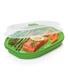 $7.99  Microwave Fish & Veggie Steamer by Progressive #zulily #zulilyfinds