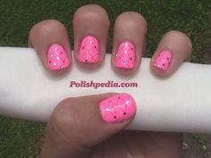 My+Dental+Floss+Nail+Design!