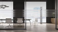 Omega boardroom table - understated elegance. Made in the UK by Atmosphere