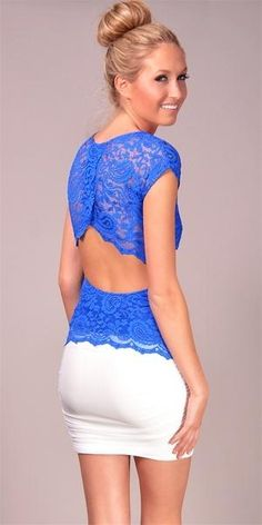 Love the back of this, and the blue!