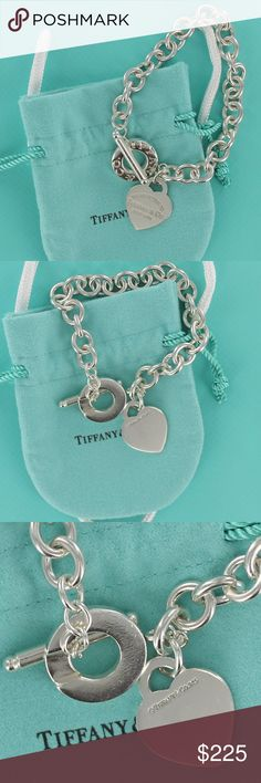 ec8317469 Return Tiffany Heart Tag Toggle Donut Bracelet Please, no low ball offers  or trades.