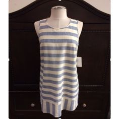 Striped Shift Dress This is a MUST HAVE for spring! This shift dress is stunning. 100% cotton. PLEASE DO NOT BUY THIS LISTING. Comment with your size when ready to purchase and I'll make you a new listing  Dresses
