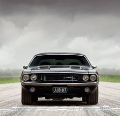 1970 Dodge Challenger coupe (lookit all that chrome!) :)