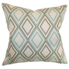 Rocco Pillow in Blue Kelp
