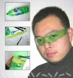 Extremely budget friendly cyberpunk shades. Be the envy of the future poor! - Imgur