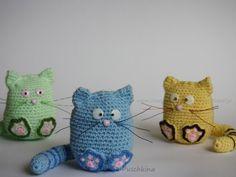 Katze häkeln - DIY Amigurumi Kätzchen Muris ✓