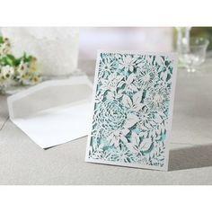Magical Garden - Laser cut Wedding invitation