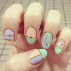 Pastels are perfect for Spring